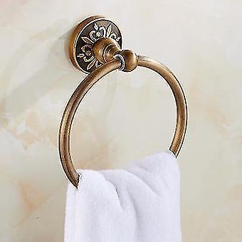 Antiikki harjattu veistetty alumiini kylpyhuone kaluste kylpy laitteisto asettaa pyyhehylly pyyhe baari sarja