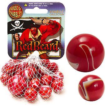 Roter Bart Netted Marmor Sammlung - Cracker Füllstoff Geschenk