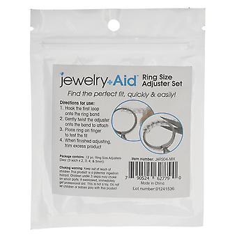 Schmuckhilfe, Ringgrößenversteller 2mm 3mm 4mm 5mm, 1 Set, Kunststoff