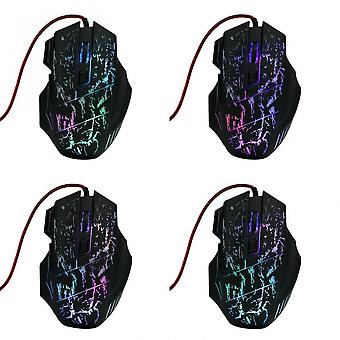 5500 Dpi Mouse Game 7 Led Buttons Wired Usb Optical Gameing Mouse For Pro Gamer