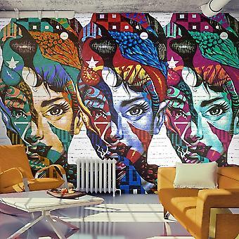 Papier peint - Colorful Faces