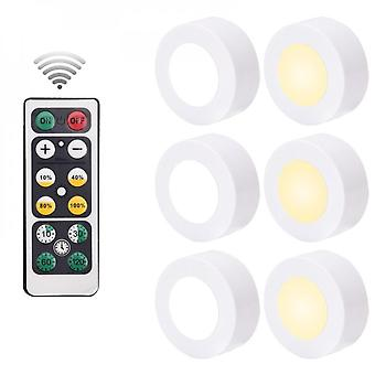 Wireless Dimmable Touch Sensor Dual Color Led Night Light Remote Control