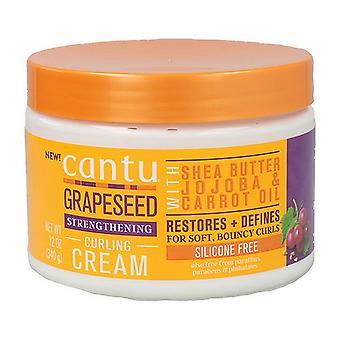 Hårmask Cantu Grapeseed Curling Cream (340 g)