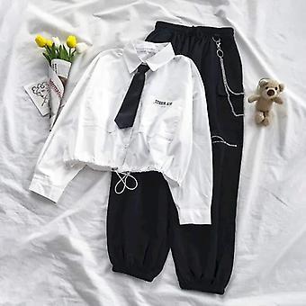 Jesenné nové uniformné súpravy, tričko s dlhým rukávom