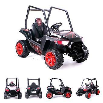 ES-Toys Kids Elektrische Auto Elektrische Buggy 604, Schokdemper, Mp3 Aansluiting, Riem