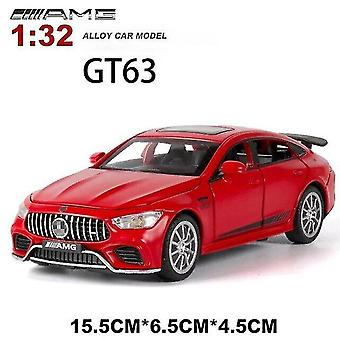 Toy cars wokex 1:32 benz amg gt63 alloy car model diecasts toy vehicles cars 6 doors opened educational