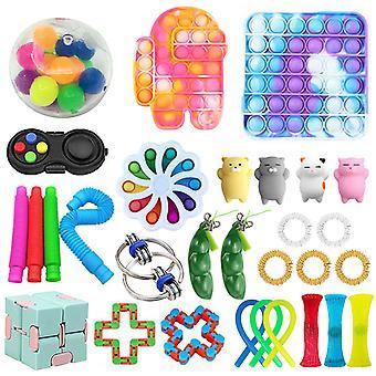 फिजेट खिलौने पैक तनाव और चिंता राहत उपकरण