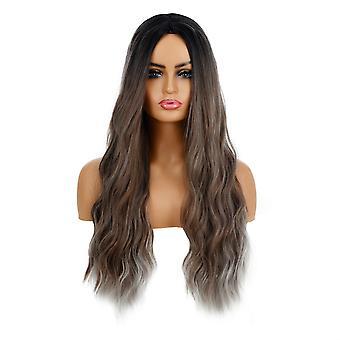 Brand Mall peruukit, pitsi peruukit, realistinen pörröinen pitkät hiukset aaltoilevat kiharat hiukset henkilökohtaiset peruukit