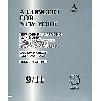 A. Mahler - Concert voor New York [BLU-RAY] USA import