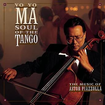 ヨーヨーマ - タンゴの魂: アストル ・ ピアソラの音楽 【 CD 】 USA 輸入
