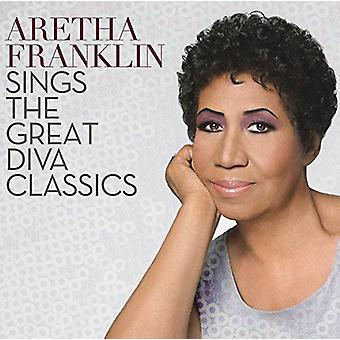 Aretha Franklin - Sings the Great Diva Classics [CD] USA import