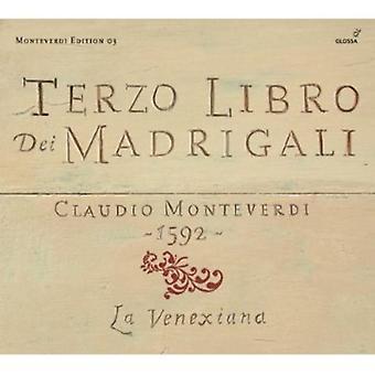 C. Monteverdi - Monteverdi: Terzo Libro Dei Madrigali [CD] USA import