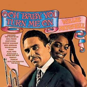 Willie Mitchell - Ooh Baby You Turn Me on [Vinyl] USA import