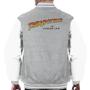 Trainspotting T2 Válassz Élet Indiana Jones férfiak ' s Varsity Jacket
