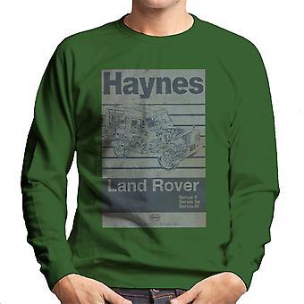 Camiseta de taller de Haynes Manual Land Rover raya los hombres