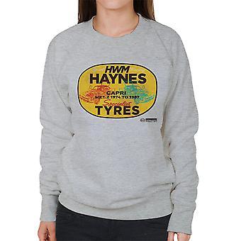 Haynes helt HWM Ford Capri Specialist dæk kvinder Sweatshirt