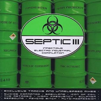 Septic III - Septic III [CD] USA import