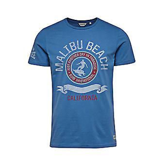 Джек и пляж Малибу Джонс Tee федерального футболка