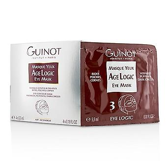 Guinot Masque Yeux Age Logic Eye Contour Mask - 4x5.5ml/0.18oz