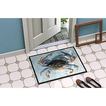 Carolines Treasures  8055-MAT Crab  Indoor or Outdoor Mat 18x27 8055 Doormat