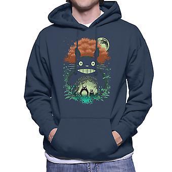 De buren mijn Neighbor Totoro mannen Hooded Sweatshirt