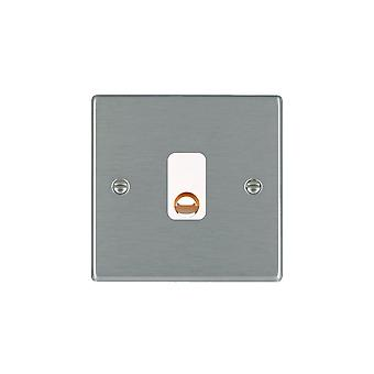 Hamilton Litestat Hartland Satin Stainless 20A Cable Outlet WH