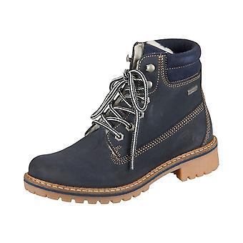 Tamaris Navy Leather 12624429827 sapatos universais de inverno feminino