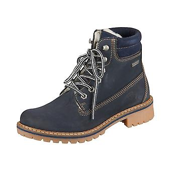 Tamaris Navy Leather 12624429827 universal winter women shoes