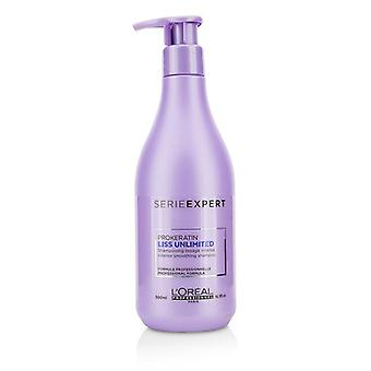 L'oreal Professionnel Serie Expert - Liss Unlimited Prokeratin Intense Smoothing Shampoo - 500ml/16.9oz