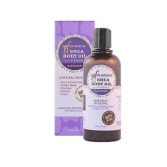 Out of Africa Shea Butter Body Oil Lavender