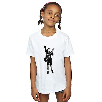 AC/DC Girls Angus Young Cut Out T-Shirt