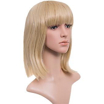 Nicole Longer Length Full Fringe Bob Full Head Wig