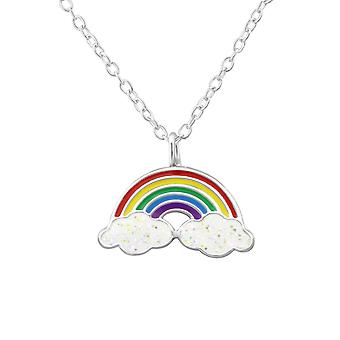 Rainbow - 925 Sterling Silver Necklaces - W32001X