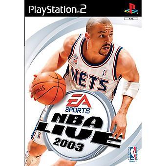 NBA Live 2003 (PS2) - Nieuwe fabriek verzegeld