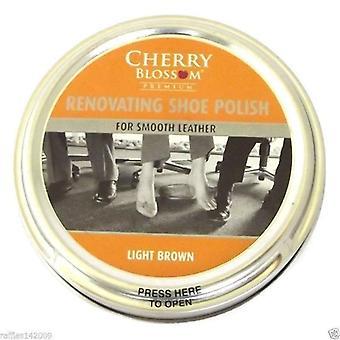 Cherry Blossom Premium renovieren Schuhcreme hell braun 50ml