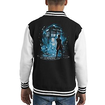Doctor Who 12th Time Storm Kid's Varsity Jacket