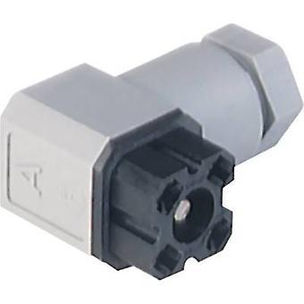 Hirschmann 932 186-100 G 30 W 3 F Voltage netaansluiting zwart aantal pinnen: 3 + PE