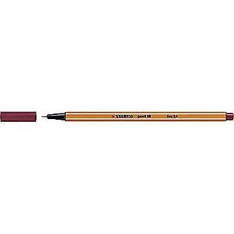 Stabilo 88/50 STABILO point 88 Fineliner Dark red 0.4 mm 1 pc(s)