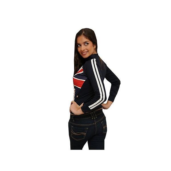 Union Jack Wear Union Jack Ladies Zipped Top