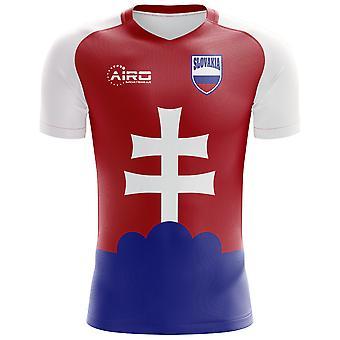 2018-2019年スロバキア ホーム コンセプト サッカー シャツ