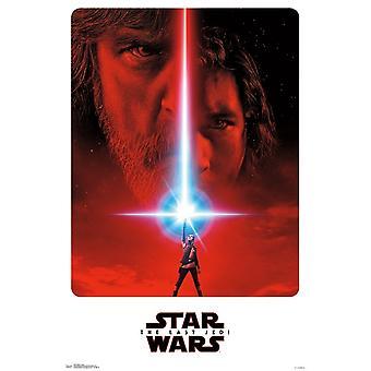Star Wars o último Jedi - Teaser Poster Print