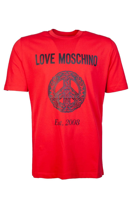 Moschino Round Neck T Shirt M4732 2A M3876