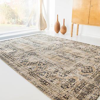 Louis De Poortere Hadschlu Antique tapis 8720 Agha vieil or