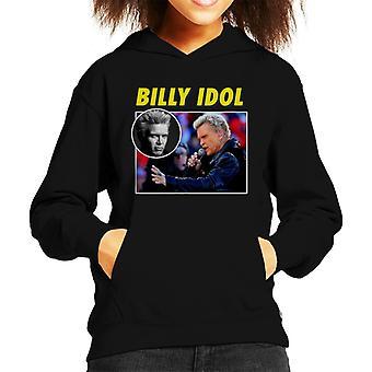 Billy Idol hołd fotomontaż dziecko jest z kapturem Bluza