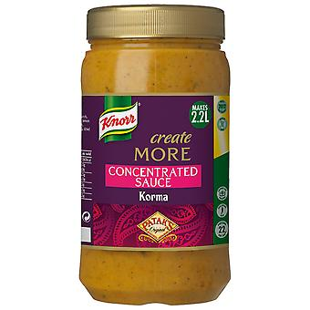 Knorr Patak's Korma Create More Concentrated Sauce