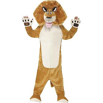 Madagascar Alex The Lion Costume, Small Age 4-6
