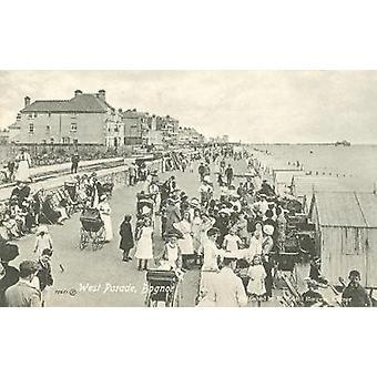Il britannico vicino al mare - una storia illustrata in riva al mare britannico - A