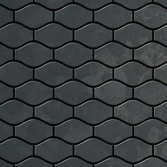 Kovová mozaika surová ocel slitina Karma-RS