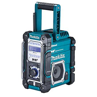 Makita DMR112 DAB / DAB + Bluetooth trabajo web Radio