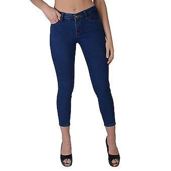 Lovemystyle hög midja blå Super Skinny Jeans - prov